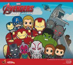 ToyzMag.com » Avengers Age of Ultron : encore plus de Hot Toys Cosbaby