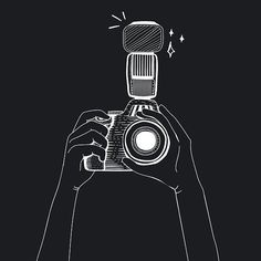 Vector of DSLR camera by rawpixel on Creative Market - Camera Camera Png, Digital Camera, Camera Outline, Camera Cartoon, Camera Illustration, Amoled Wallpapers, Camera Wallpaper, Camera Drawing, Free Illustrations