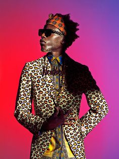 Vividly Eccentric Editorials - The Afrofuturist Image Series by Ruud Baan is Visually Bold (GALLERY)