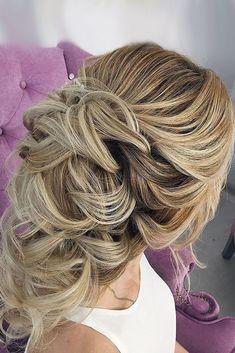 Half Up Half Down Wedding Hairstyles Ideas ❤ See more: http://www.weddingforward.com/half-up-half-down-wedding-hairstyles-ideas/ #weddingforward #bride #bridal #wedding #weddinghairstyles
