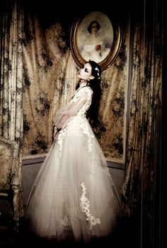 Astrid Bergès-Frisbey in Valentino Haute Couture by Ellen von Unwerth Vogue Italia, March 2012.