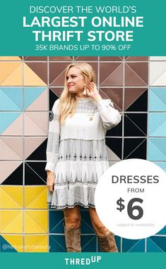 c08ea8402dd Want high-quality clothes up to 90% off retail price  Visit thredUP the