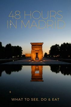 Make the most of your 48 hours in Madrid! Here's what to see, do and eat during 2 days in Spain's capital.