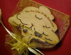 Little Bag of: Love   Message on a Tree -   Gift - Present  Keepsake