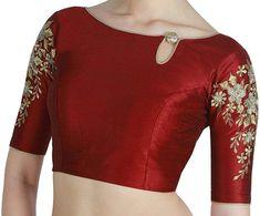 Choli Blouse Design, Blouse Designs High Neck, Silk Saree Blouse Designs, Choli Designs, Fancy Blouse Designs, Latest Blouse Neck Designs, Sari Design, Mehndi Designs, Designer Blouse Patterns
