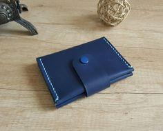 DOEUS Porte Carte de Crédit en Cuir, Mini Portefeuille Pour poches de  pantalon ou veste 13bfd68da40