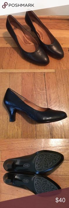 "NWOT Sofft Black Pumps Perfect condition! These would be great for work. They were a gift and just a little too small for me so I've never worn them. 2.5"" heel Sofft Shoes Heels"