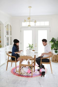 18 White Rooms Thatll Look Good Way Past Labor Day via Brit + Co