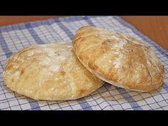 Somuni lepinje recept / Flat Bread Recipe [Eng Subs] Bosnian Bread Recipe, Bosnian Recipes, Croatian Recipes, Savoury Baking, Bread Baking, Ma Baker, Albanian Recipes, Albanian Food, Flatbread Recipes