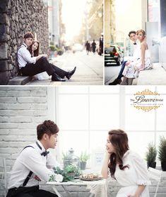 Korean Wedding Photography Concepts // Dating Snaps