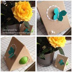 Frühlingshafte Grüsse aus der Kartenwerkstatt / TOBLERONE BOX