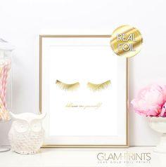 Lashes Eyelashes GLAM Eyelash Custom Falsies by GlamPrintsShop
