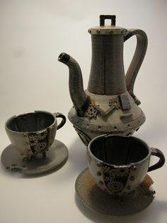 Steampunk tea set by ~Blue-Pixie-Stick on deviantART