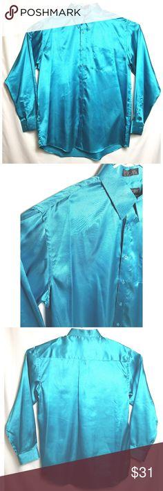 "Danile Ellissa Men's Dress Shirt 17 1/2-36-37 Daniel Ellissa Men's Dress Shirt Blue Solid Polyester Made in China Flat Lay Measurements Sleeves: 27"" Shoulders: 20"" Chest: 26"" Length: 31"" No holes or stains Smoke free home Pictures are part of description GB071342018 AJ-20 Daniel Ellissa New York Shirts Dress Shirts"