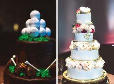 gorgeous wedding cakes, golf ball wedding cake, golf wedding cake, golf groom's cake, golf themed groom's cake, golf themed wedding cake, masters tournament wedding cake, cake for golfer