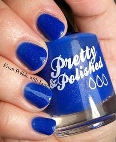 Pretty & Polished Zack from the Saved by the Nail collection