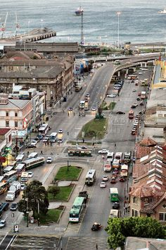 Av. Argentina, Valparaiso, Chile ... Que fotografía mas linda!