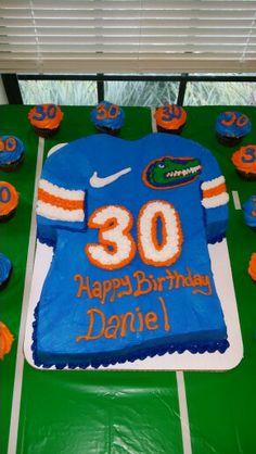 Florida Gators birthday cake