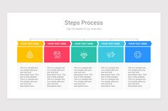 Steps Process With Text Boxes PowerPoint Diagrams is a professional Collection shapes design and pre-designed template that you can download and use in your PowerPoint. The template contains 20 slides you can easily change colors, themes, text, and shape sizes with formatting and design options available in PowerPoint. Color Change, Boxes, Diagram, Shapes, Templates, Colors, Collection, Design, Crates