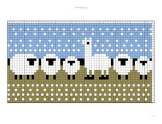 Knitting Graph Paper, Knitting Charts, Knitting Stitches, Baby Knitting, Animal Knitting Patterns, Fair Isle Knitting Patterns, Knitting Designs, Knitting Projects, Cross Stitch Embroidery
