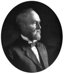 "Simeon Eben Baldwin, AHA president 1905-06.  His presidential address, ""Religion Still the Key to History,"" can be read here: http://www.historians.org/info/AHA_History/sebaldwin.htm"