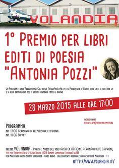 """28 marzo 2015 - #Premiazione 1° Premio per Libri editi di #Poesia """"Antonia Pozzi"""""""