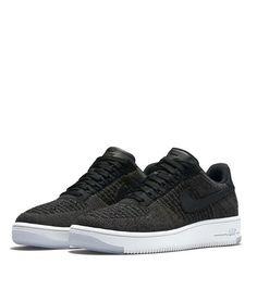 Nike Air Force Black Low Cut