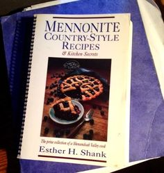 Mennonite Country Style Recipes >> Cook books, Beards and Printing on Pinterest