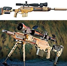The Ashbury ASW338LM is a sniper rifle engineered around the versatile .338 Lapua Magnum cartridge.. Uses a Surgeon XL bolt action receiver.. in combo with a Saber-FORSST modular stock/chassis.. Folding stock with adjustable cheek piece and folding rear monopod.. Picatinny rails up front for extra peripherals.. Sub-MOA accurate to over 1500 yards. hunting