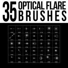 35 Optical Flare Brushes by stockgorilla.deviantart.com on @DeviantArt Best Photoshop Actions, Creative Photoshop, Free Photoshop, Photoshop Brushes, Photoshop Tutorial, Photoshop Ideas, Brushes Free, Optical Flares, Digital Art Tutorial