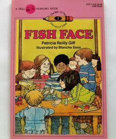 Fish Face - Patricia Giff 1984 PB (82014-1047) children books, vintage, learning