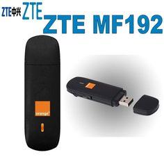 Lot of 50pcs Unlock 7.2Mbps ZTE MF192 3G HSDPA USB Modem  Price: 675.00 & FREE Shipping  #tech|#electronics|#bluetooth|#computers