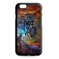 Pierce The Veil Lyric Logo Quote Galaxy iPhone 6 Case