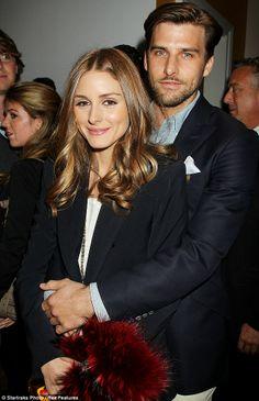 Olivia P. and her Beau,Johannes Huebl