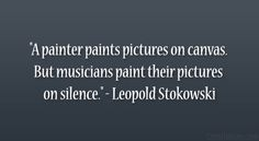 music paints on silence - Google Search