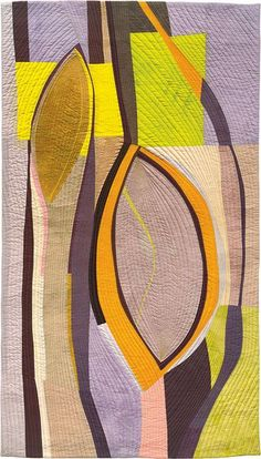Chrysalises 1 by Valerie Maser Flanagan via Jenny Bowker: inspirational art quilts