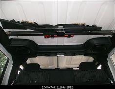 DIY setup with LOCKING gun mount for Jeep.   Can buy dual locking mechanism via ebay.