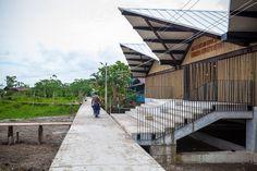 Gallery of Embera Atrato Medio School / Plan B Arquitectos - 10