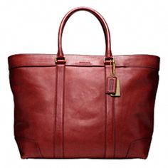 Coach. Limited Edition. Men's Travel Collection.         (I want every piece, it is so luscious I just can't help it.)