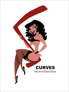 S Curves, The Art of Shane Glines is a stunning collection of thousands of drawings, pin-ups and illustrations by animation designer Shane Glines. Shane has been a...