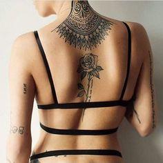 some healed tattoos on @jennallard photo by @khaleesipickles