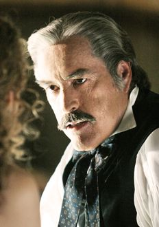 Deadwood's  Cy Tolliver played by Powers Booth
