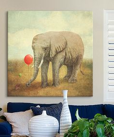 Loving this Terry Fan Truce Square Wrapped Canvas on #zulily! #zulilyfinds