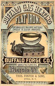 Shop 1877 Buffalo Forge Company Vintage Advertisement Postcard created by Liveandheal. Vintage Packaging, Vintage Labels, Vintage Ephemera, Vintage Ads, Vintage Prints, Vintage Branding, Posters Vintage, Images Vintage, Vintage Pictures