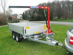 Billedresultat for small truck crane Log Trailer, Trailer Diy, Small Trailer, Trailer Plans, Trailer Build, Utility Trailer, Trailer Remodel, Atv Trailers, Dump Trailers