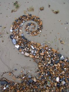 Beach spiral 1 by Dishtwiner.deviantart.com / on TTL Design