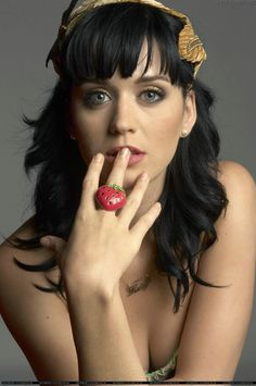 hair, ring. katy perry