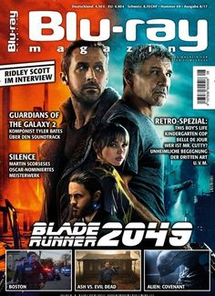 #Ridleyscott im Interview - #Bladerunner 2049 😍📽️ Jetzt in Blu-ray Magazin.  #blockbuster #Film #Serie #Premiere