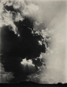 "Alfred Stieglitz, ""Music, A Sequence of Ten Cloud Photographs, N° VII"", 1922 (742×960)"
