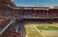 "Connie Mack Stadium, Philadelphia. The ""Church of Baseball""."